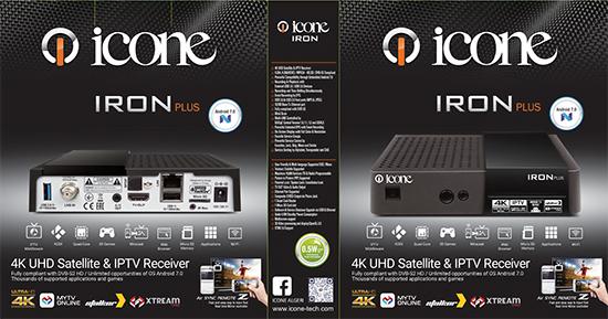 Nouvelle Mise à jour ICONE IRON4KV1.9.20 20/11/2019