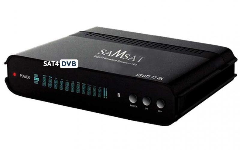Mise à jour SAMSAT SS-OTT 77 4K V3.4.4 27-02-2020