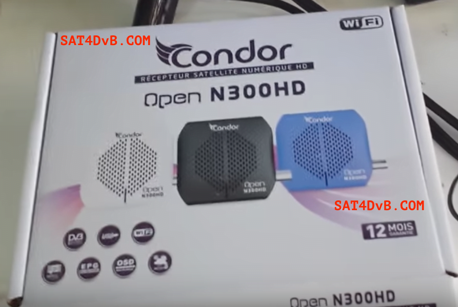 Mise à jourCONDOR N300 HD v2.81 20-05-2020