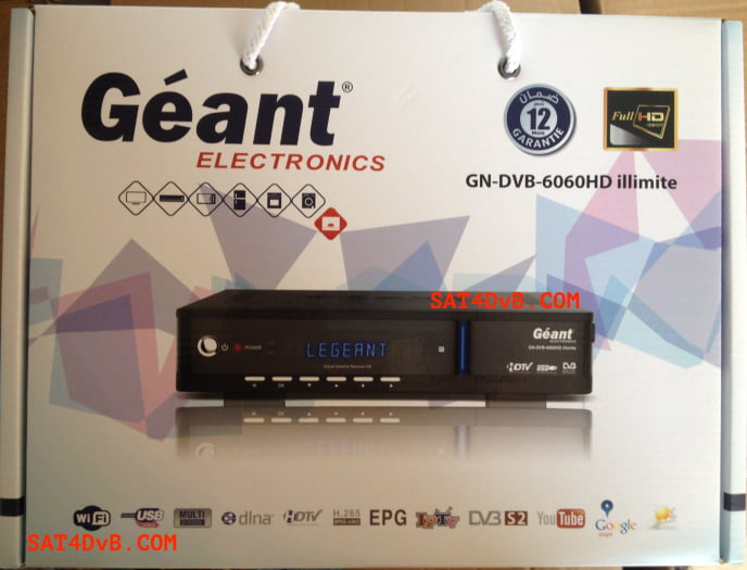 Mise à jour GN-DVB 6060 HD ILLIMITE v2.44 29-03-2020
