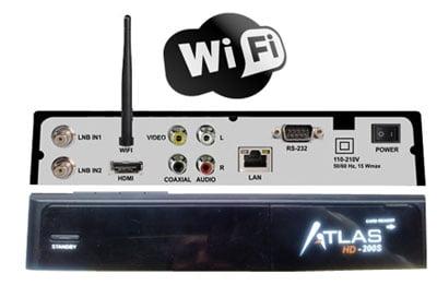 receptor satelite cristor atlas hd 200 wifi