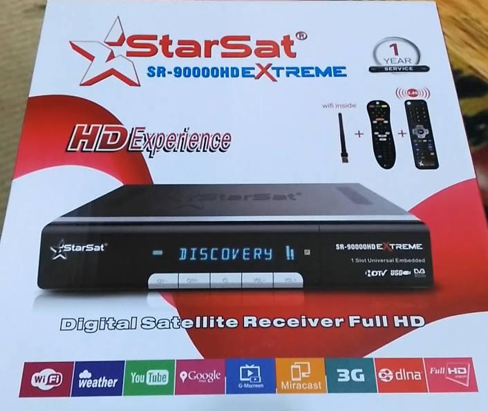 Mise à jour SR-90000 HD EXTREME V273 19-01-2020