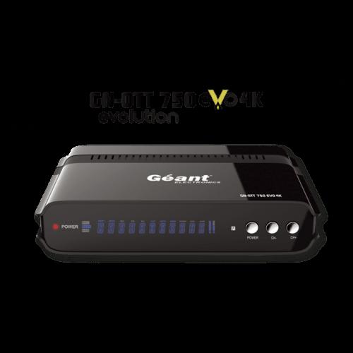 Mise à jour GN-OTT 750 Evo Allure 4K v3.1.5 27-02-2021